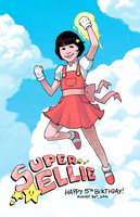 Super Ellie by lexxercise