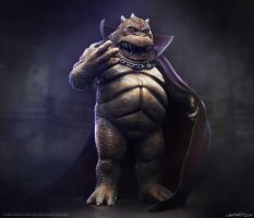 Lrrr - Ruler Of the Planet Omicron Persei 8 by crackfiji42