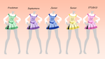 Lolita Academy female uniform 1 - DL- by 2DHikikomori