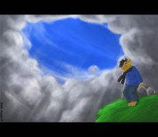 Over the Clouds by ManliAnoen