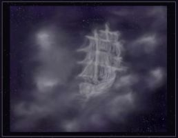 Cloudy vessel by Selina-Vigu