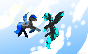 EARLY BIRTHDAY GIFT TO FROZENPUP~! by bananna108