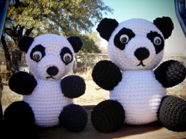 Pair of Pandas by W0IfDreamer