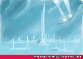Speed Painting Landscape 3 by mohdsyukri83