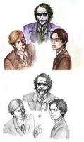 a joker a harvey a crane by rockedgirl