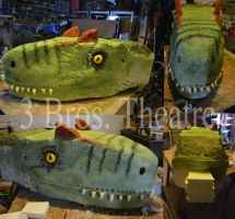 3 Brothers Theatre's The Lost World Allosaurus by CrazyAsylumClown