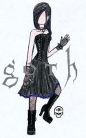 simply goth by amarenna