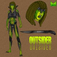 The Outsider by wondermanrules
