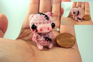 Halloween Line - Stitched Pig Zombie by altearithe