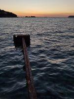 Old Pier in Uvala Lapad in the Sunset :) by OrsatUrsusActos