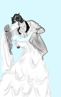 Reaver And Sparrow's Wedding 2 by Tinalbion