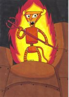 Futurama Robot Devil: Welcome To Robot Hell! by Snuggle-Slut