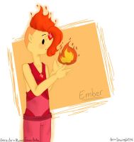 Ember (Art trade) by Drawing-Heart