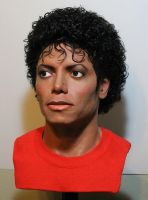 MJ lifesize Thriller bust pic 2 by godaiking