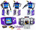 Vantage - LEGO Game Boy Advance Transformer by VonBrunk
