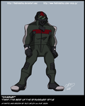 """TMNT TBOTS """"Charley"""" Color by theblindalley"""
