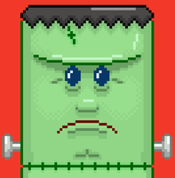 Frankenstein's 8 Bit Monster by crumby99