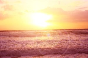seaside sunrise by siffilate