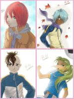 Inazuma guys by Autumn-Sacura