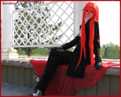 Grell is dreaming by Prince-Lelouch