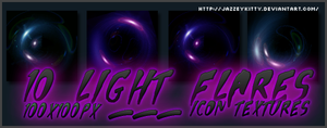 Light Flares Pack 2 by silklungs