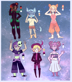 [ 2/6 OPEN ] Collab Space Adopts - 100 pts by museless-writer