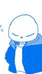 Sans (GIF) by TheGoldenMember123