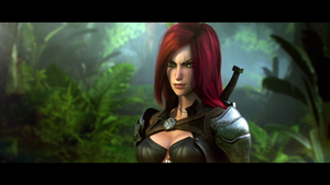 League Of Legends - Katarina by Els236