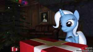 Christmas gift for Trixie by AlexWheatLee
