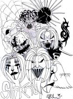 Slipknot by killerkeithfromouter