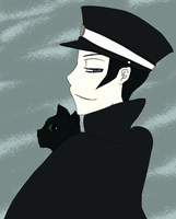 Raidou and Gotou by funnbunns