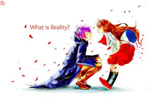 Ib And Garry  What is Reality? ~ by Negi-desu01