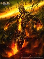 Drexo Ingus HellFire- the transformation by Chaos-Draco