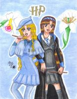 Ravenclaw and Beauxbatons by Lily-de-Wakabayashi