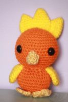 Torchic - for sale on Etsy by theyarnbunny