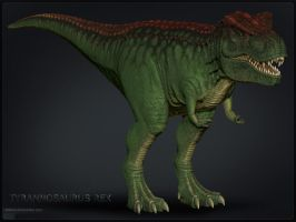 T. Rex colored by sash4all