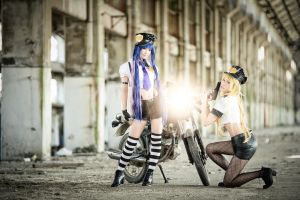 Panty and Stocking (Police version) by DaxieChang