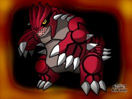 Groudon by ilovemy3cats