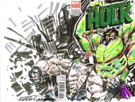 HULK vs BANE pt 1 by jerkmonger