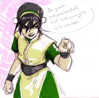 Tough Toph by SkizzleBoots