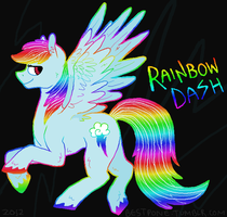 Rainbow Dash by ponieseverywhere