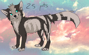 :Adoptable Fox/Wolf CLOSE: by AdoptablesPoints