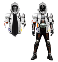 Kamen Rider Ghost - Fourze Damashi by tuanenam
