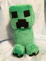 Creeper Plush by GlacideaDay