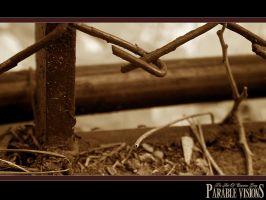 Fence Background by parablev