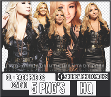 Pack png render: CL | 2NE1 #02 by VipArmy