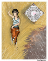 Portal 2- Exile Vilify by MirageFlames
