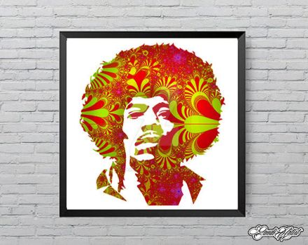 Limited edition Hendrix2 by GandiArtist
