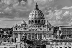 Rome - St Peter's basilica by olideb08
