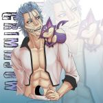 Poke Grimmjow throw pillow by Zyephens-Insanity